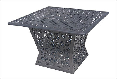 Gas Fire Pit Table FS1010-T-16