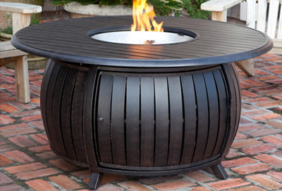 Gas Fire Pit Table FR1010-T-24