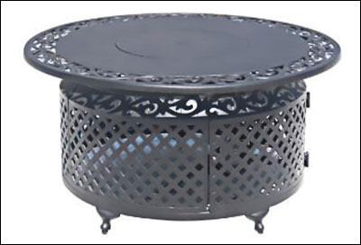 Gas Fire Pit Table FR1010-T-12